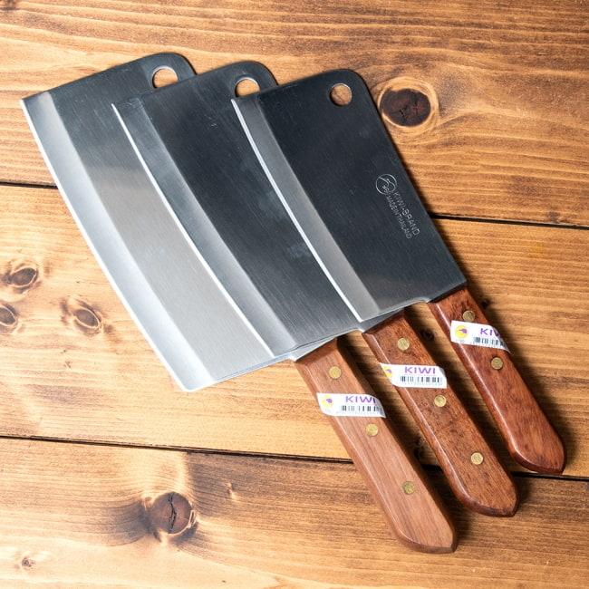 タイのチョッパーナイフ【KIWIブランド】 - Lサイズ 9 - 他にもサイズがございます!お好みに合わせてお選びいただけます。