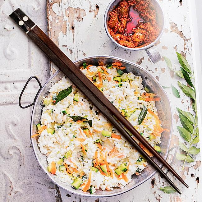 アジアの箸の写真