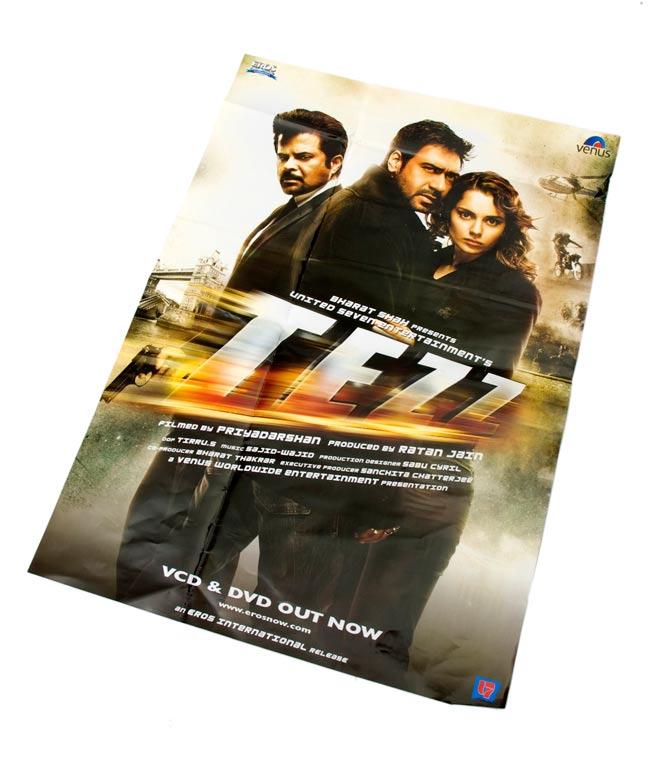 インド映画販促ポスター[TEZZ]の写真
