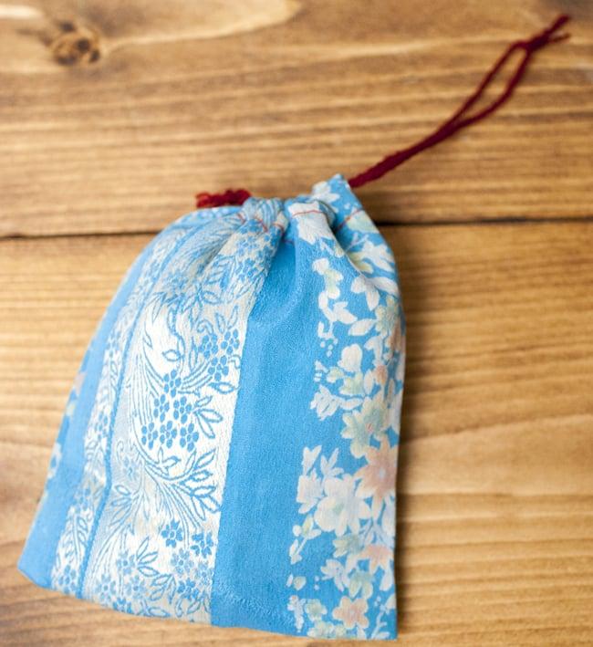 [アソート]オールドサリーの小さな巾着の写真
