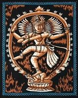 【ランダムな無料プレゼント】インドの神様タペストリ