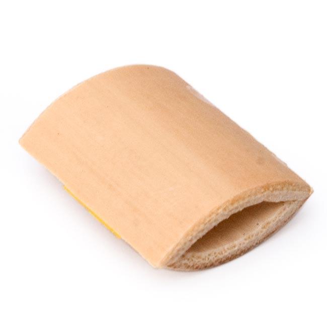竹のミニ笛の写真