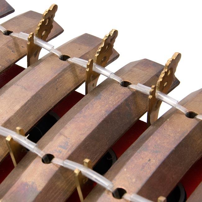 ガムラン - Pemade -[レンタル・片道送料無料] 3 - 鍵盤の拡大写真です。