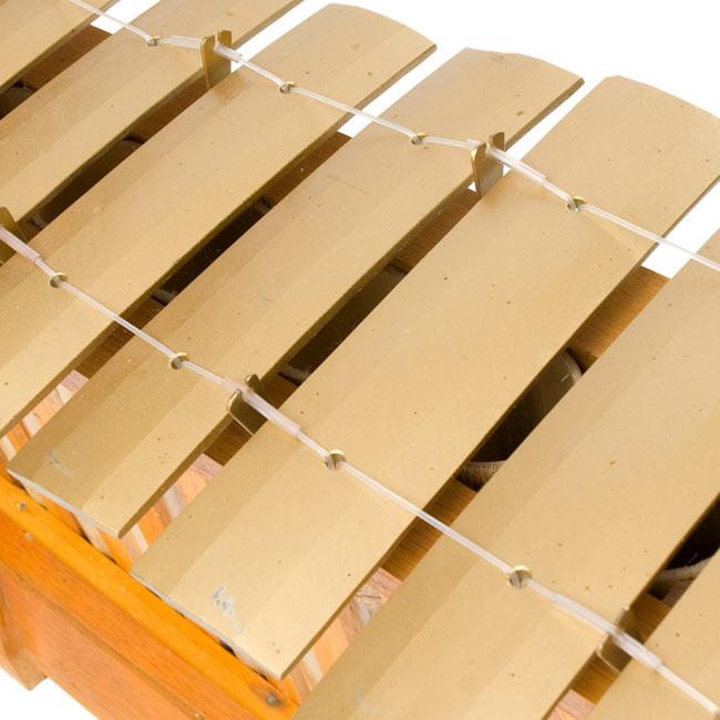 ガムラン - LAKU - 3 - 鍵盤の拡大写真です。