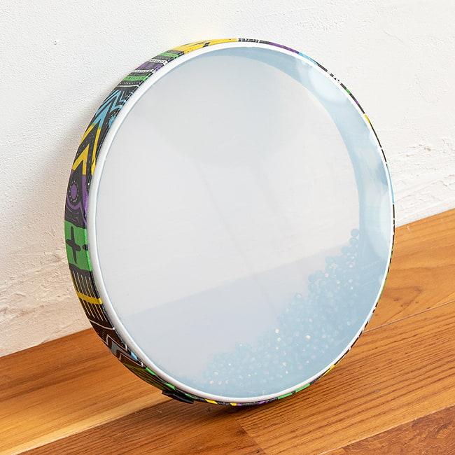 波打ち際の音がする打楽器 マリンドラム PVC製 直径31cm 2 - 全体像です。