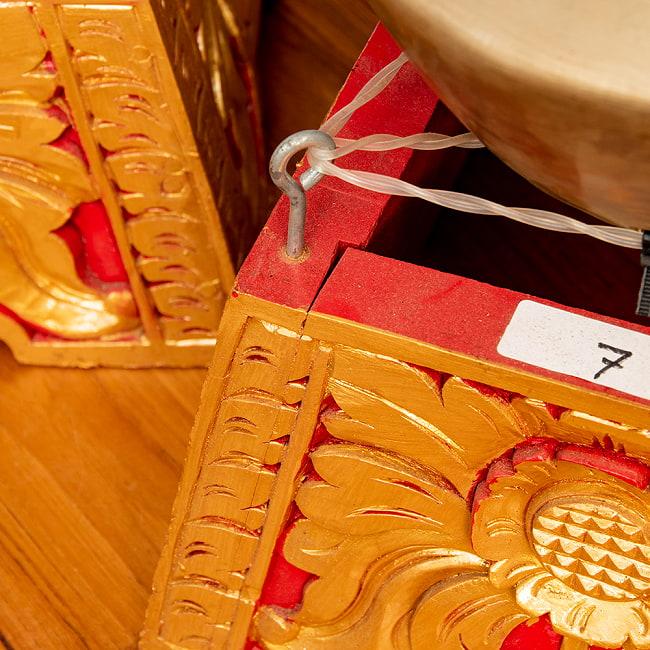 トロンポン Trompong バリ・ガムランの本格品 9 - 製造されてから長年が経ってしまっているのでアンティーク感は否めませんが、日本で入手できるのは極めてレアです。