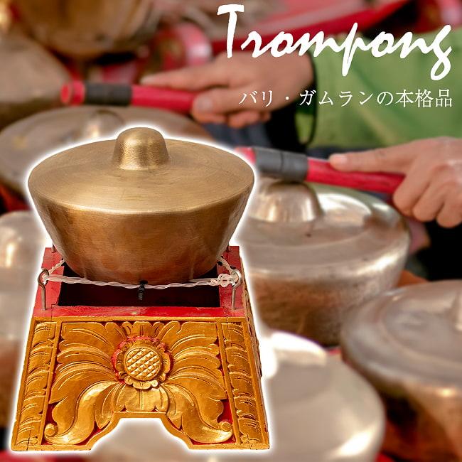 トロンポン Trompong バリ・ガムランの本格品の写真