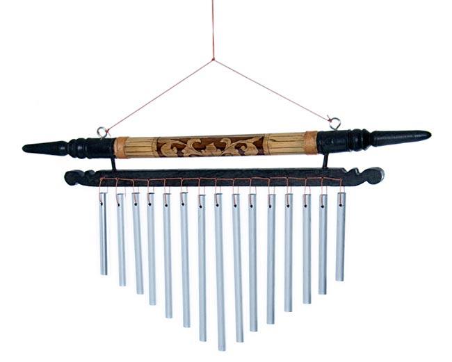 バリ島のハンガーチャイム【18cm×35cm】の写真