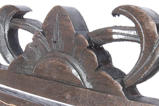 バリ島のハンガーチャイム【25cm×35cm】の写真2 - 中心の拡大写真です。