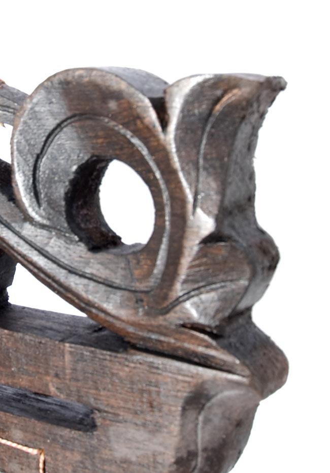 バリ島のハンガーチャイム【25cm×35cm】の写真3 - 端の部分の拡大写真です。