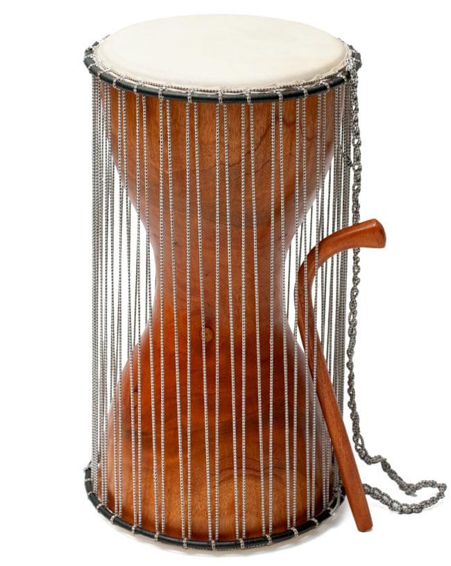 木製トーキングドラム[プレーン]の写真