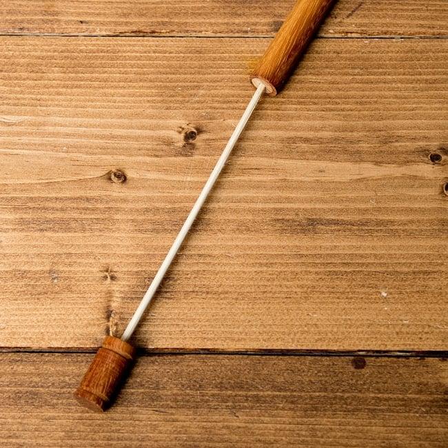 木製ナチュラルバードホイッスル【19cm】 4 - 伸ばしてみたところです