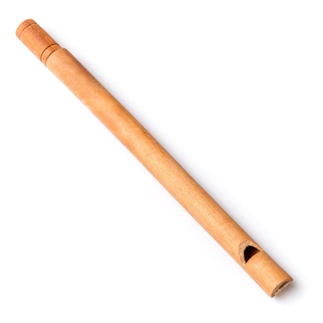 木製ナチュラルバードホイッスル【19cm】の写真