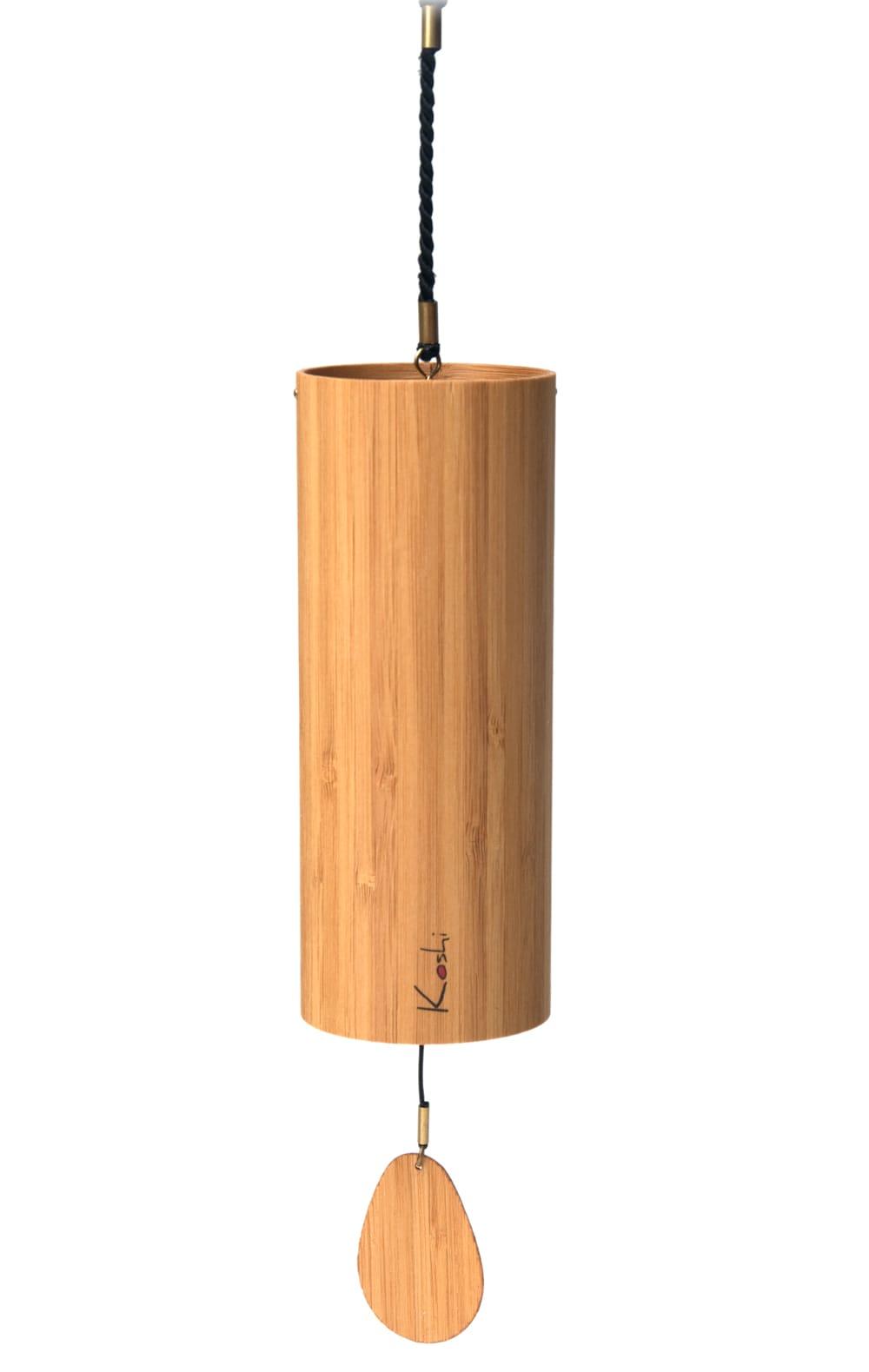 コシ・チャイム Koshi Chime (ヒーリング風鈴) - Aqua 水 6 - シンプルに吊り下げたところです