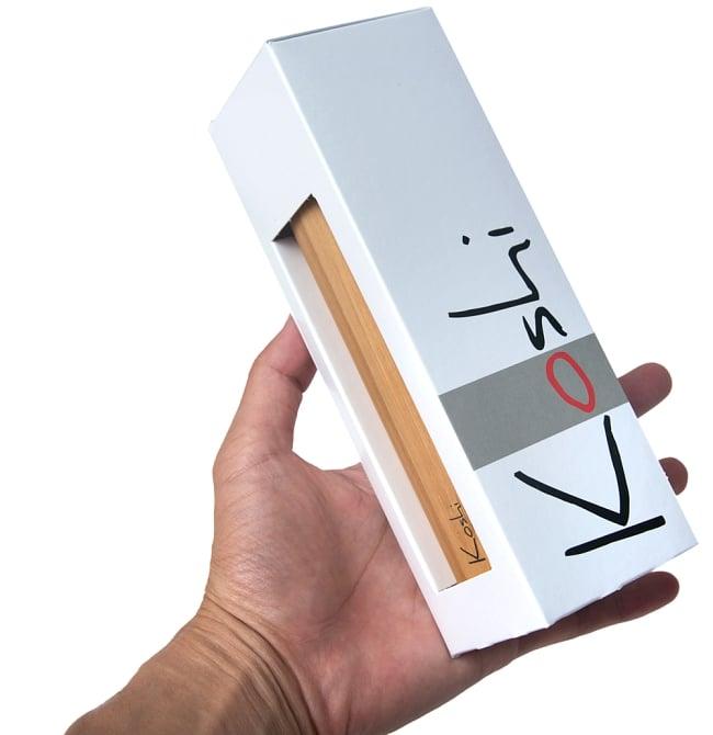コシ・チャイム Koshi Chime (ヒーリング風鈴) - Ignis 火 3 - 白い美しい箱に入っています