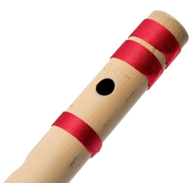 高品質コンサート用バンスリ(BASS A管) 4 - 一部分を拡大しました