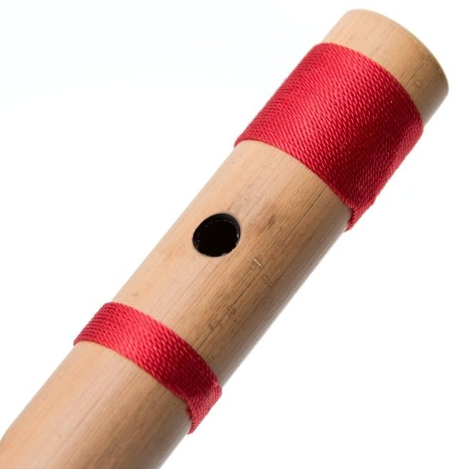 高品質コンサート用バンスリ(BASS A管) 5 - 一部分を拡大しました