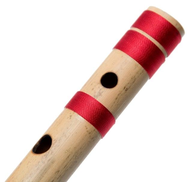 高品質コンサート用バンスリ(D#管) 5 - 一部分を拡大しました