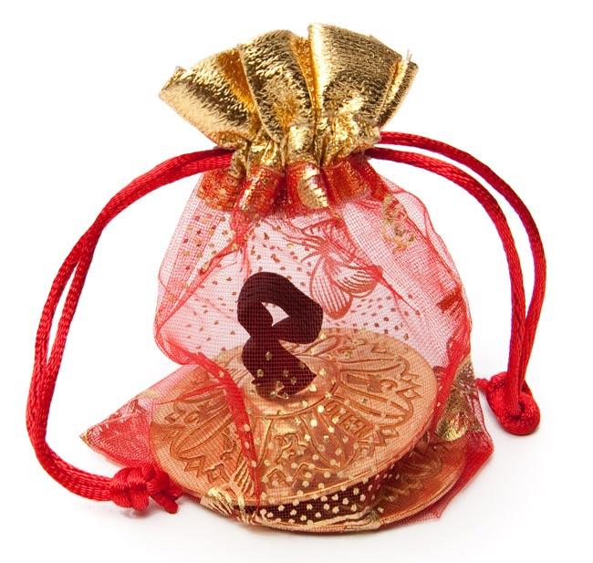 ジル - フィンガーシンバル(片手分) 3 - 可愛い小袋に入れてお送りさせて頂きます。ギフトやプレゼントにぴったり!