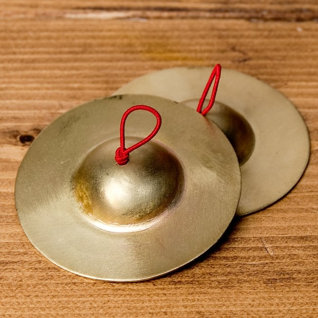 フィンガーシンバル - 6.5cmの写真