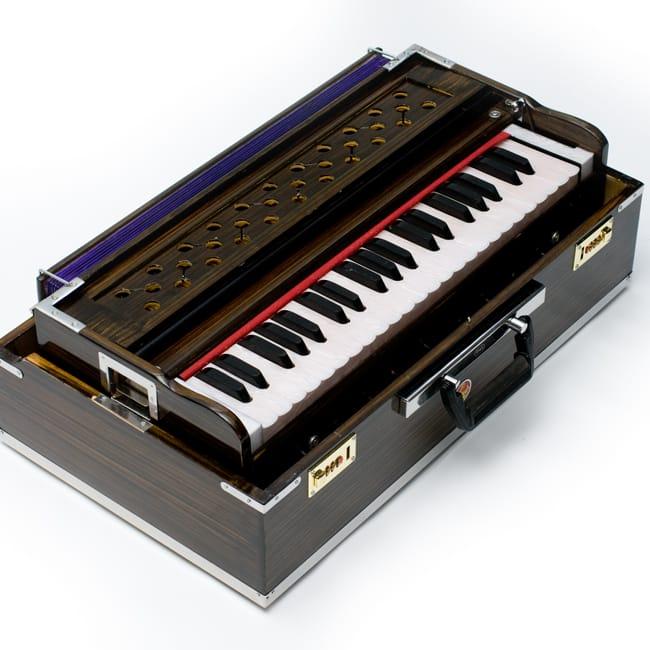 【Kartar Music House社製】ポップアップハルモニウム 9 - このように小さくして収納します