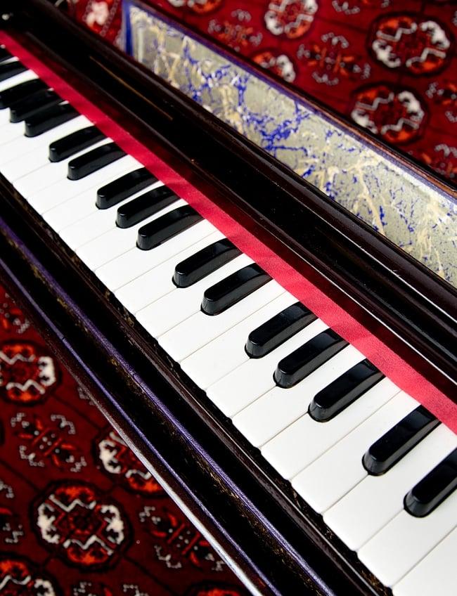 【Kartar Music House社製】携帯ハルモニウム 3 - キーボードの部分です。