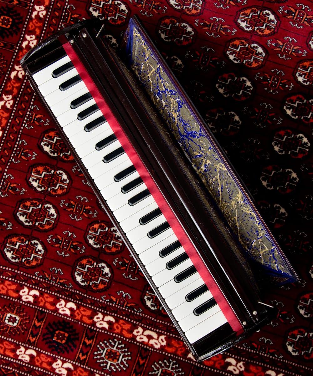 【Kartar Music House社製】携帯ハルモニウム 6 - 上からの写真です