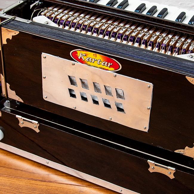 【Kartar Music House社製】ポップアップハルモニウム 2ドローンタイプ 12 - ソフトケースが付属します(持ちてはついていません)。