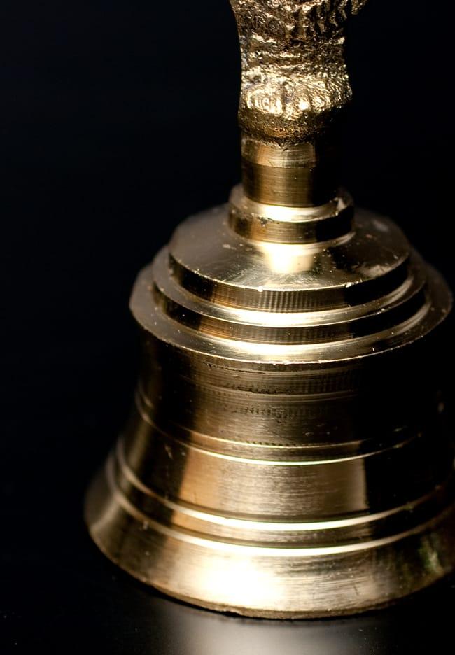 ハヌマーンのハンドベル【8.5cm】 2 - ベル部分の写真です