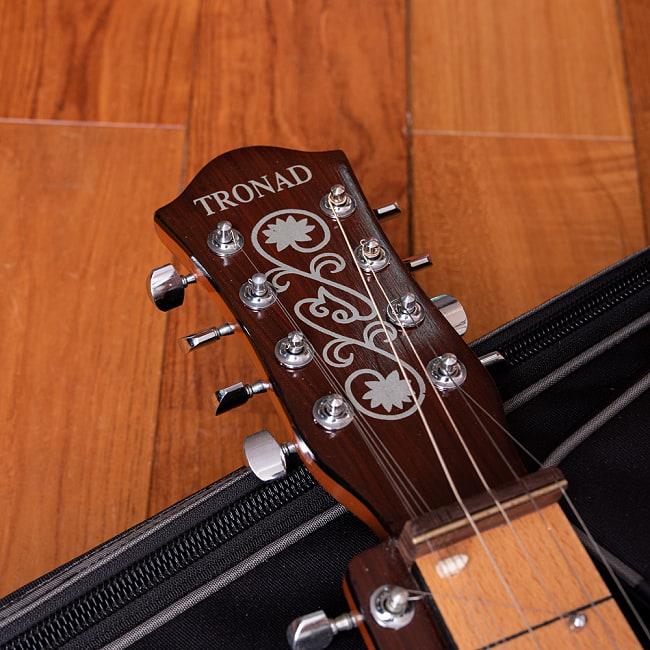 インドのスライド・ギター モハーンヴィーナ 4 - フレット部分