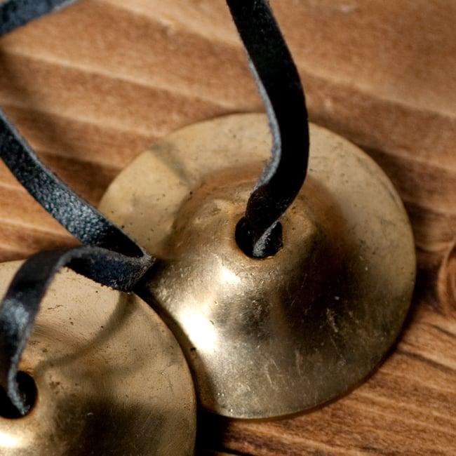 シンプルゴールドディンシャ【約4.5cm】の写真3 - 上からの写真です