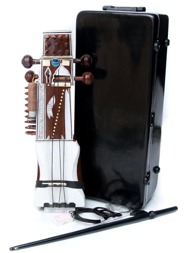 サーランギ Sarangi [ハードケース・交換弦付き] 13 - こちらは【デザインB】です。