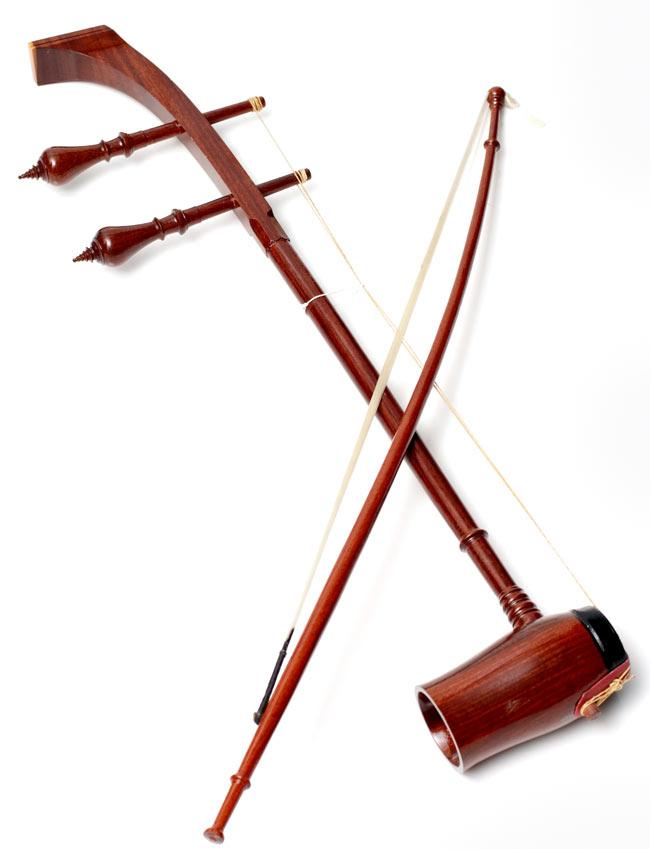 [ちょいワケ品]タイ民族楽器 - ソー・ドゥアン[Saw duang] 5 -