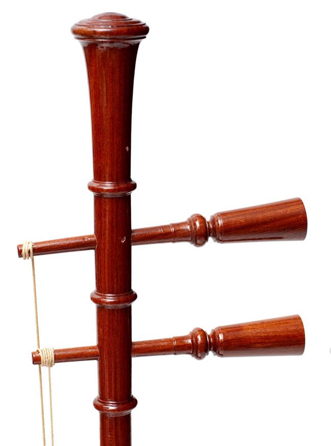 【ワケアリ特価】タイ民族楽器 - ソー・ウー [Saw u] 5 - 竿の部分です