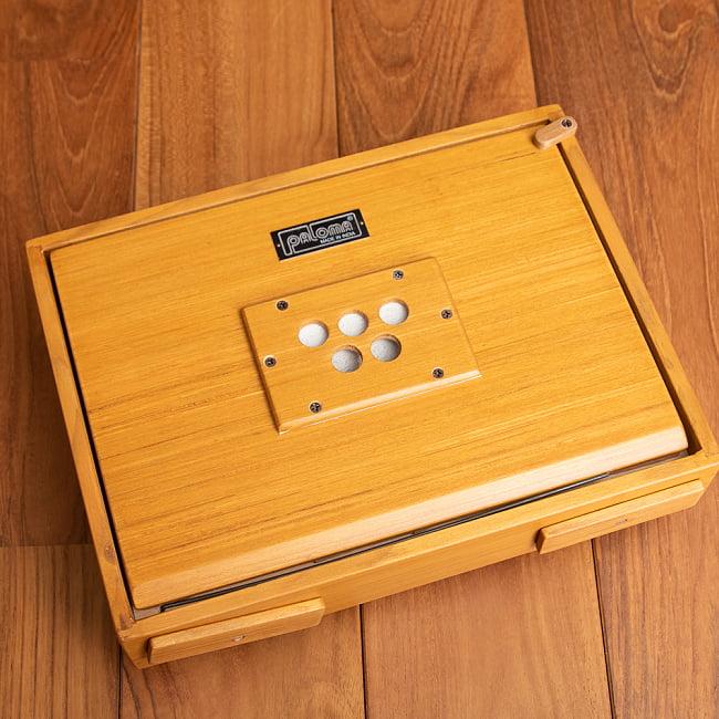 シュルティボックス Shruti Box[ピンク] 5 - ソフトケースも付属するので、持ち運びも大変便利です!