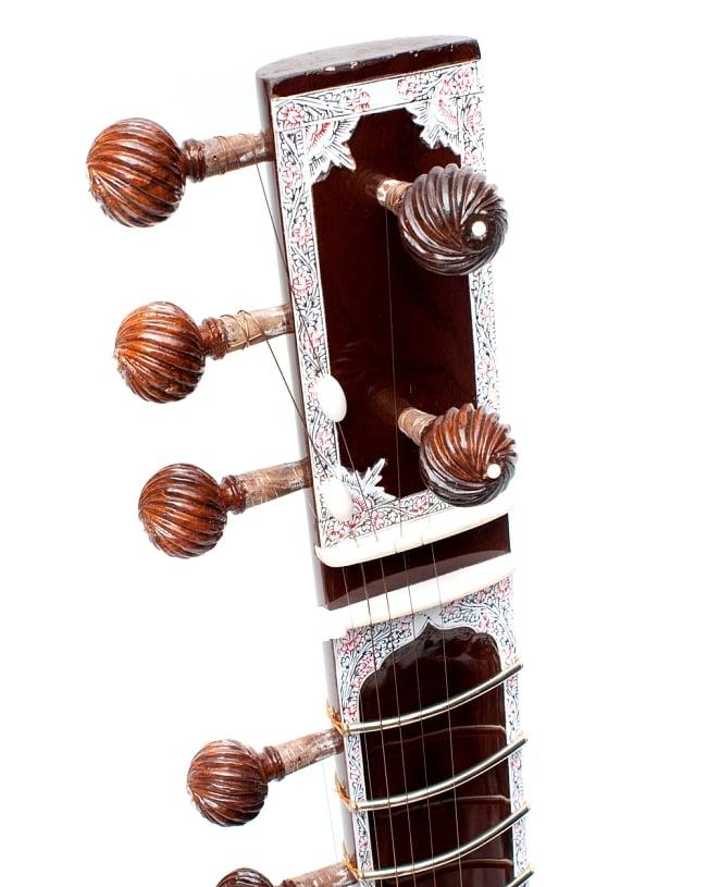 シタールセット(グラスファイバーケース) 3 - ヘッドの写真です