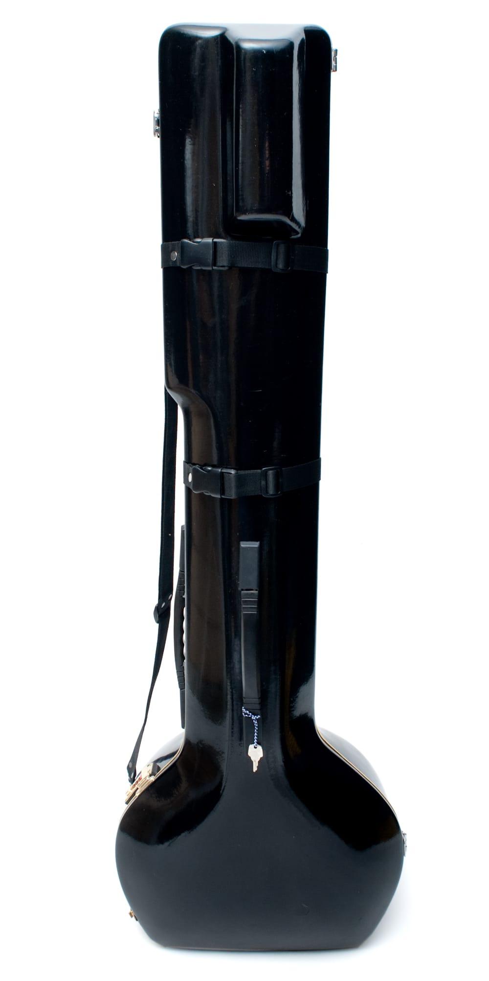 シタールセット(グラスファイバーケース) 8 - 安心のグラスファイバーケース付き!