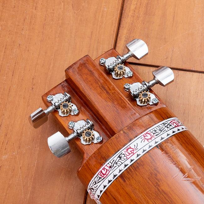 【Kartar Music House社製】エレクトリックシタールセット(グラスファイバーケース) 10 - フラットなトゥンバです。