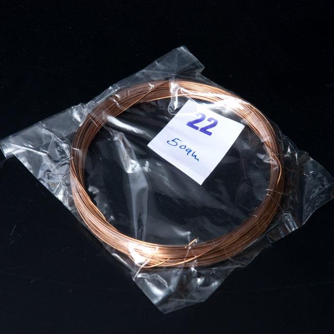4弦用シタール弦(銅,22番)の写真