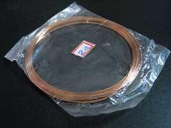 3弦用シタール弦(銅,24番)の写真