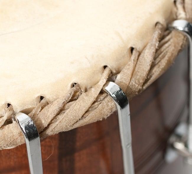 パカワジ - Pakwaj Screw Fitting 6 - 鼓面のボルト部分のアップです