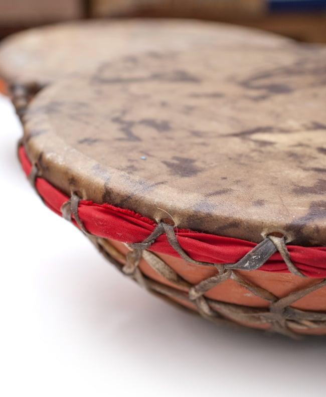 クレイ・タシャ(大) 10 - インドの打楽器です。