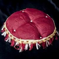 タブラのパッド - 赤