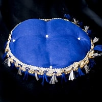 タブラのパッド - 青