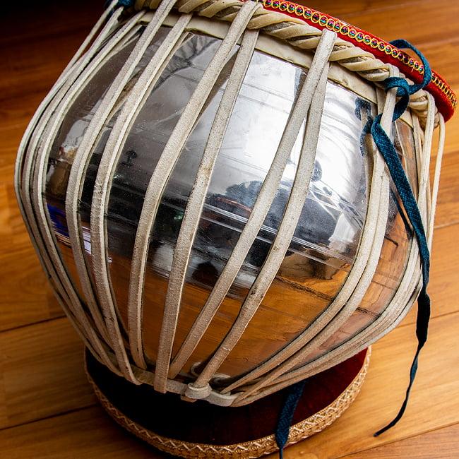 タブラ フルセット スティール 12 - インドからの輸入品のため、傷や汚れはあります…