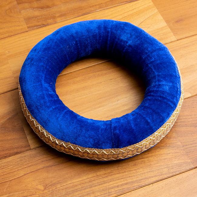 タブラ フルセット スティール 14 - 青い台座