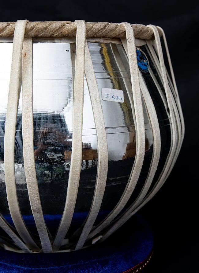 タブラ フルセット スティール 5 - グラマラスな造形が美しいインドの打楽器です。