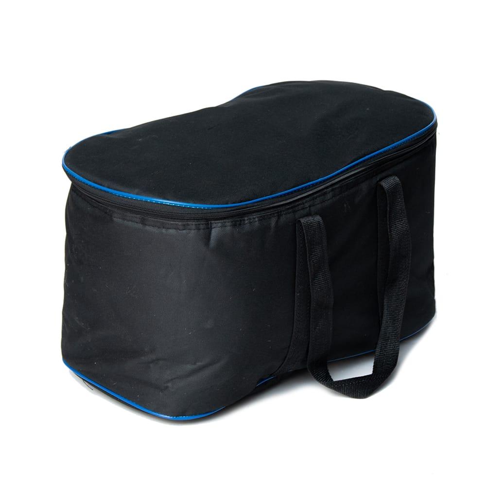 【一点物】タブラ フルセット ブラス・装飾つき 11 - 持ち運びに便利なソフトケース付きです。