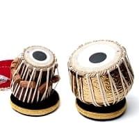 タブラ(ブラス、装飾付、重量級)