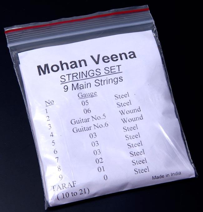モハーン ヴィーナ(Mohan Veena)の弦セットの写真